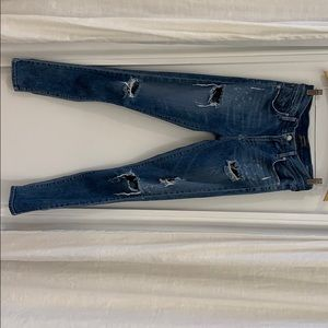 Agolde Sophie skinny jean distressed wash size 27